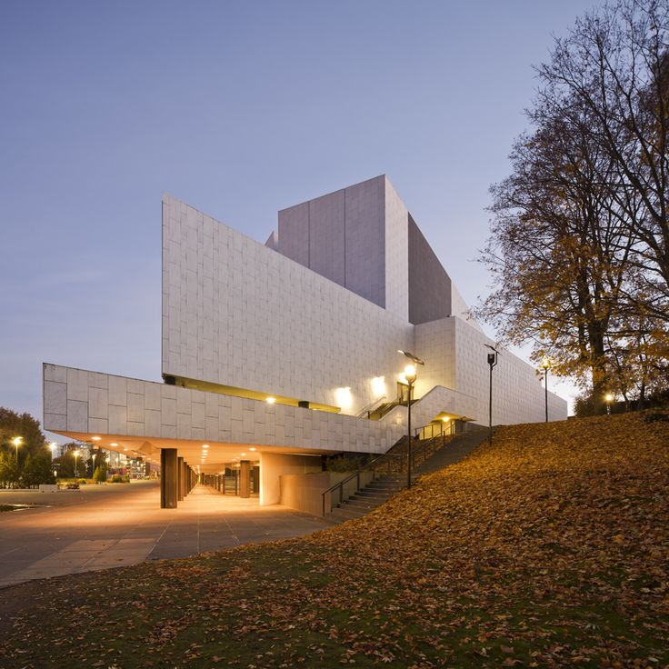 Finlandia Hall Alvar Aalto, 1967 - 1971 www.arndDewald.com