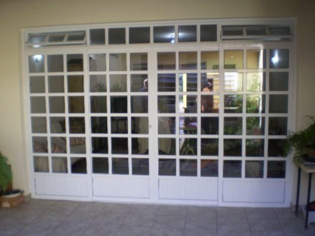 modelo 1- Porta balcão de alumínio veneziana e vidro.  modelo 2 - Porta social veneziana  modelo 3 - Porta de alumínio veneziana furada e...
