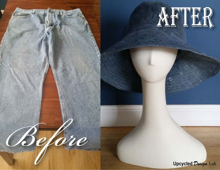 How to make a ladies wide brim sun hat from an old pair of jeans. How to add a water proof faux oil cloth finish.…