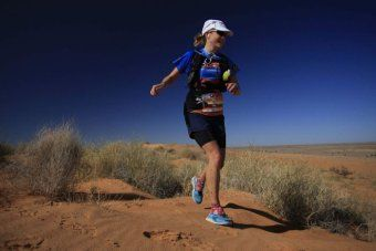 Sydney woman Jess Baker wins the six-day Big Red Run