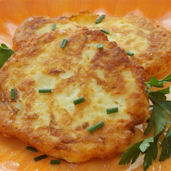 Recipe For Potato Cakes Made From Mashed Potatoes