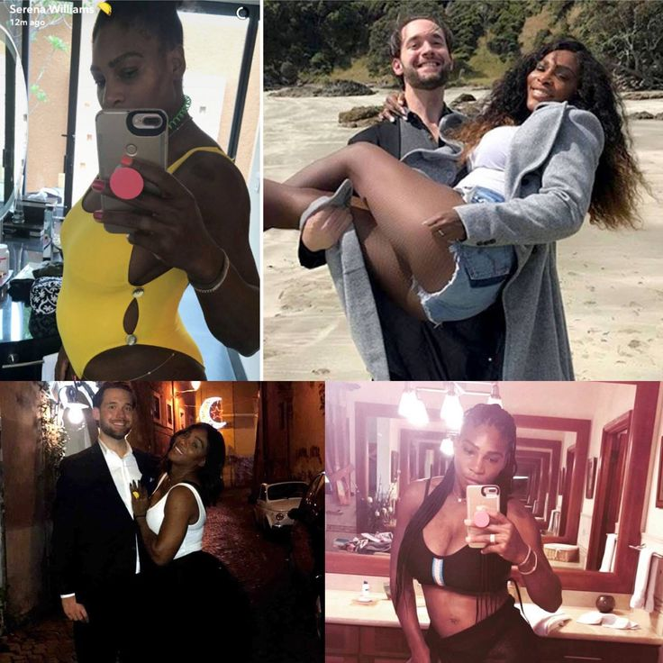 Serena Williams and Alexis Ohanian are pregnant with their first baby