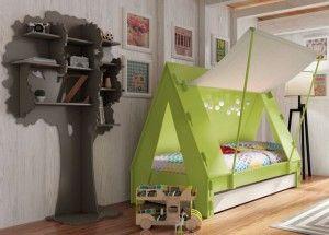 tienda de campaña cama para niños