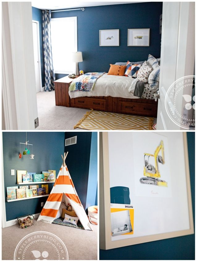 Jake wants a construction themed room... THIS I could get onboard with :)