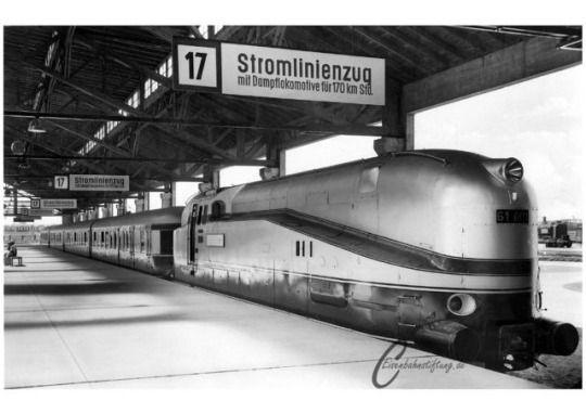 The HenschelWegmann Train was a unique passenger express
