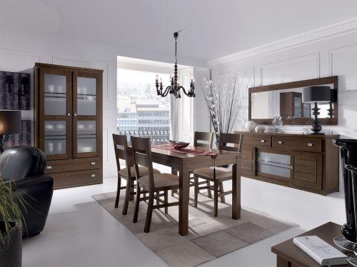 18 best muebles de salon comedor en madera de nogal images on pinterest - Samarkanda muebles ...