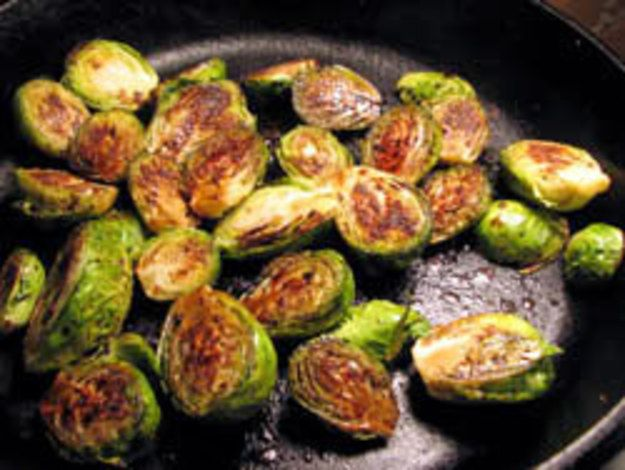 A while back, Nick wrote about a balsamic-glazed Brussels sprouts recipe that he seemed relatively happy with.  Now, I personally happen to have the greatest, simplest balsamic Brussels sprouts recipe known to man in my repertoire—a recipe that converts the non-lovers and the childhood-fearers—which I found on a flyer when I visited Dan Barber's upstate restaurant Blue Hill at Stone Barns. Although I wanted to write about my Brussels sprouts recipe, Nick had already covered that territory—I…