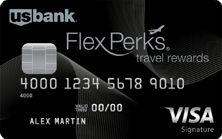 U.S. Bank FlexPerks® Travel Rewards Visa Signature® Card