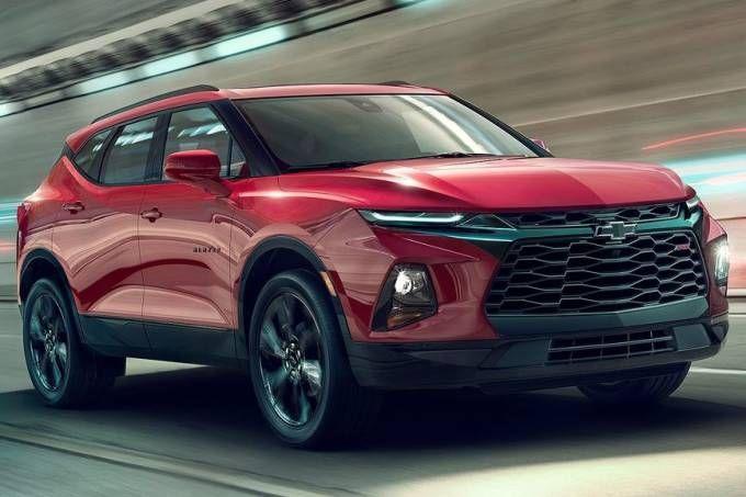 Nova Chevrolet Blazer Ressurge Maior E Com Motor De Camaro Chevrolet Blazer Caminhoes Da Chevy E Caminhoes Chevrolet