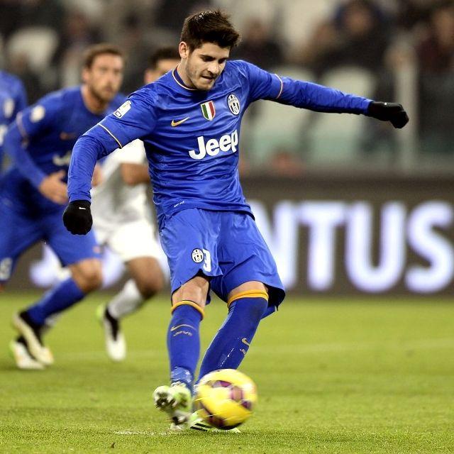 Alvaro #Morata non sbaglia dal dischetto