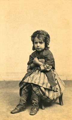 Italian Peasant girl in New York, 1861 | Early Pictures