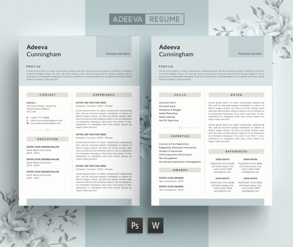 The 8 best Simple Resume images on Pinterest Resume, Resume design - simple resume design