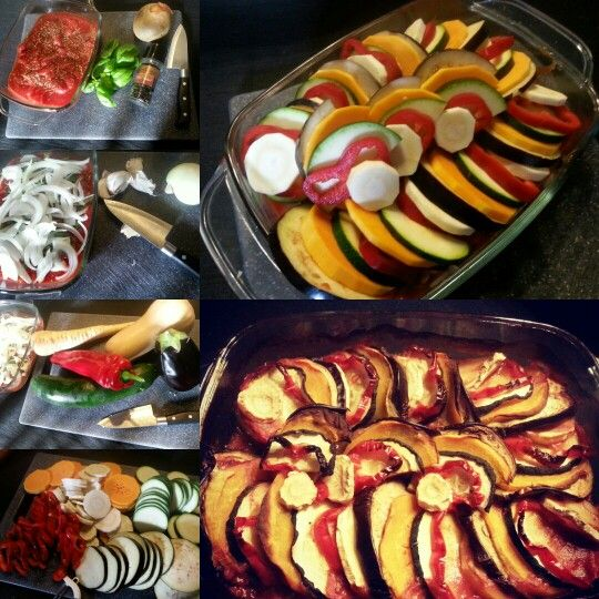 Ratatouille (vegetarisch)