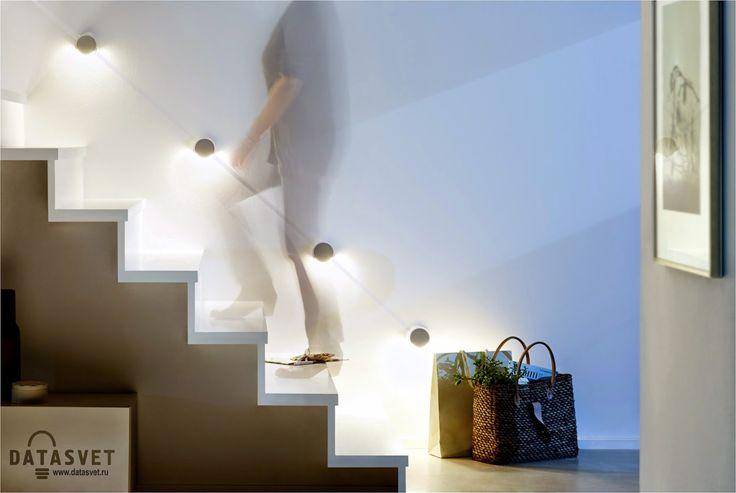 Новинка «Special Line StairLED»: звездный путь на высший уровень http://www.datasvet.com/2015/03/special-line-stairled-paulmann.html #новинка #specialline #stairled  #paulmann #зфгдьфтт #gfekvfyy #паулманн #плоскийсветильник #накладной #подсветкалестницы #светодиодный #led #купить
