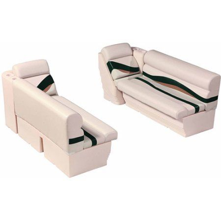 Wise Premier Pontoon Series Front Boat Group, Silver