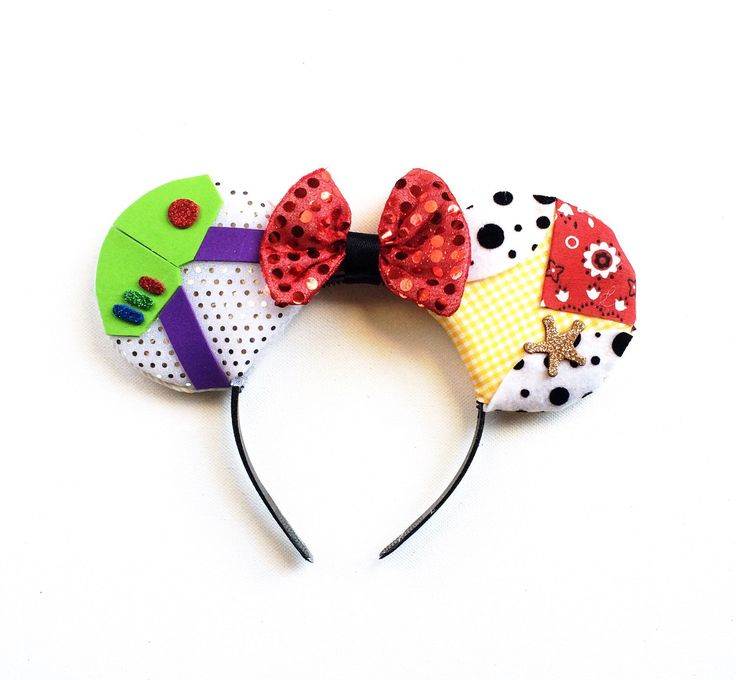 A personal favorite from my Etsy shop https://www.etsy.com/listing/262269272/toy-story-inspired-ears-woody-ears-buzz
