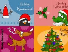 Karácsonyi üdvozlőkártyák