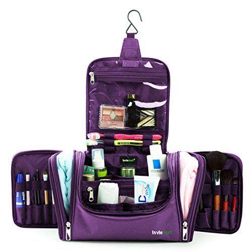 Lavievert Toiletry Bag   Makeup Organizer   Cosmetic Bag   Portable Travel  Kit Organizer   Household Storage Pack   Bathroom Sto…  63cd4c3d24ddd