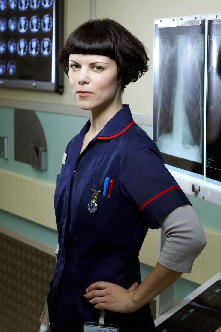 Sarah Jane Potts as the fiercely independent Nurse Eddi McKee