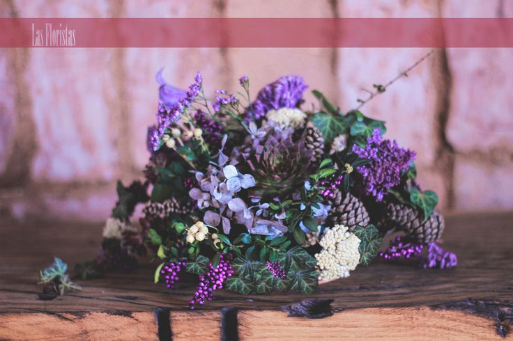 Wedding Table Decoration - Purple Limonium