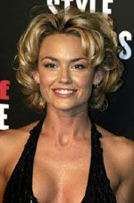 Kelly Carlson Short Curly Hair