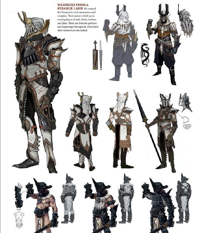 Dragon age Inquisition official art book