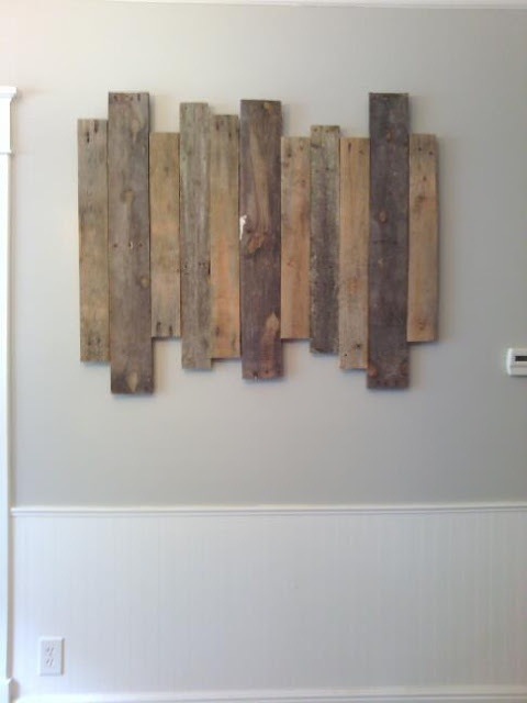 Step By Step Instructions On How To Make Staggered Pallet