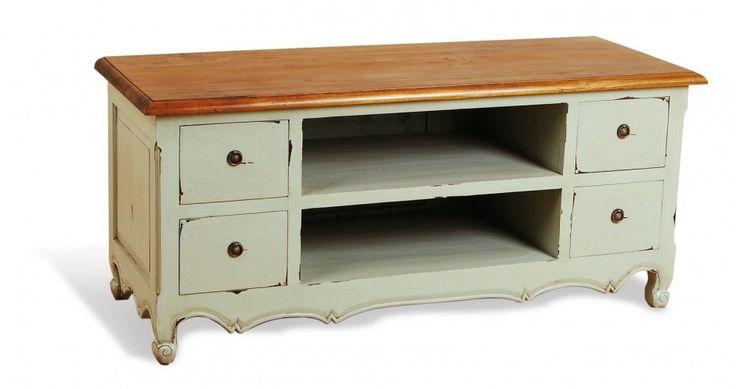 17 best images about shabby chic tv stands on pinterest. Black Bedroom Furniture Sets. Home Design Ideas