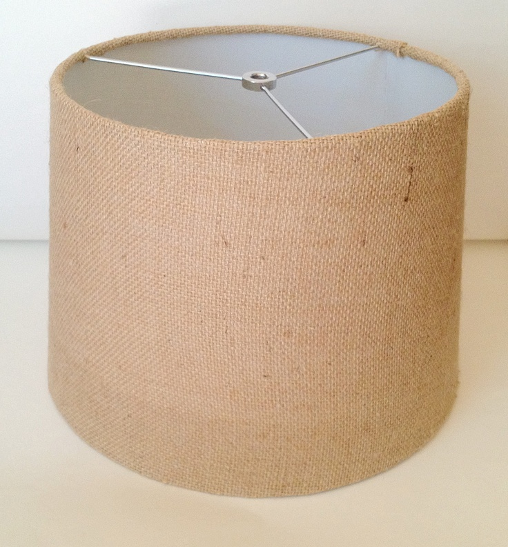 Jute Ceiling Lamp Shade: 17 Best Images About Burlap Lamp Shades On Pinterest