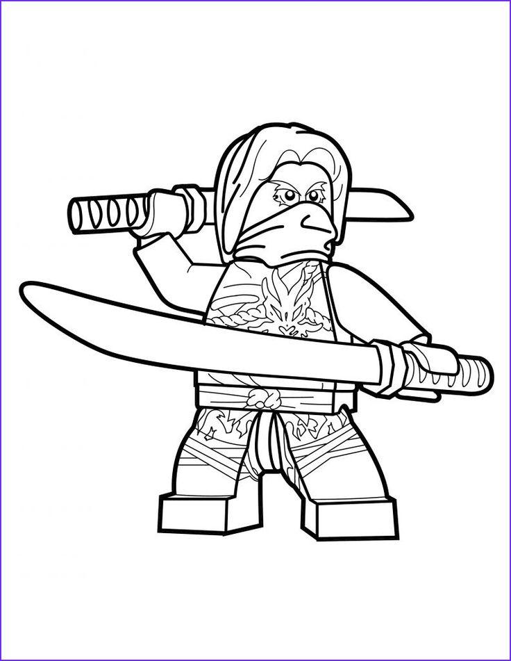lego ninjago coloring page morro the brick show  ninjago