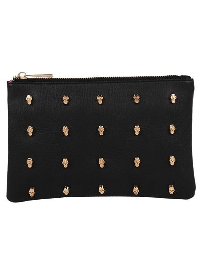 VIDA Leather Statement Clutch - HUMMINGBIRD VIII by VIDA SL8j7y0kjx