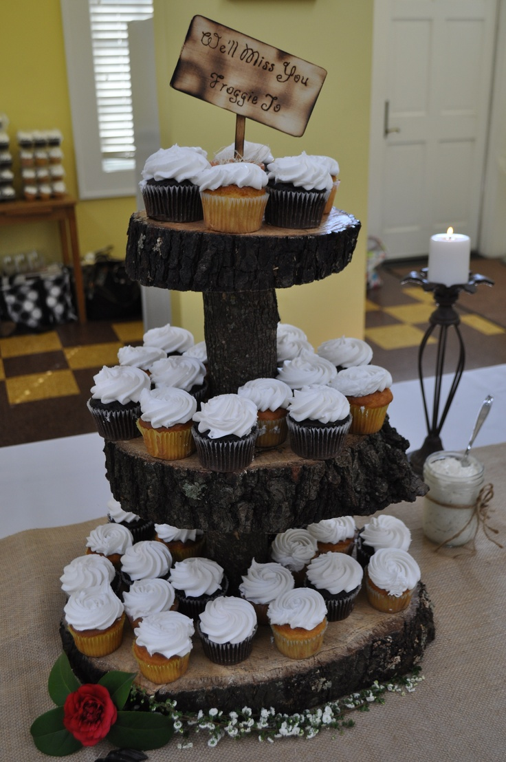 71 Best Rustic Cupcakes Cakes Amp Displays Images On