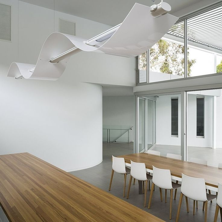 Modern interior of an Adelaide house #adelaide #house #realestate #modern #dining #interior