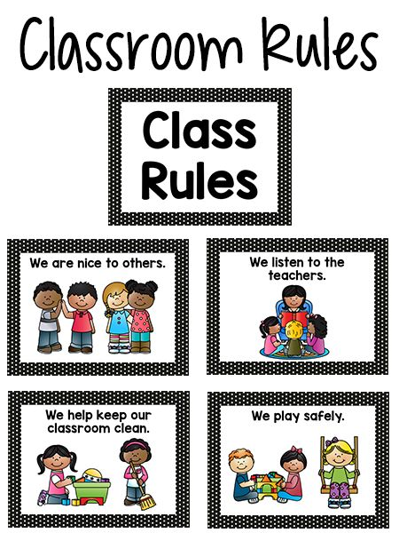 Classroom Ideas Printables ~ Best ideas about preschool classroom rules on