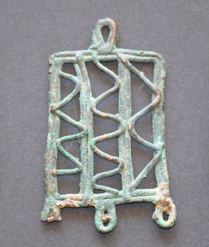 Amlash Luristan coiled wire bronze pendant, 1st millenium B.C. Private collection For more Amlash bronze pendants please visit https://it.pinterest.com/andreacanecane/amlash-bronze-pendants/?etslf=4989&eq=pendant