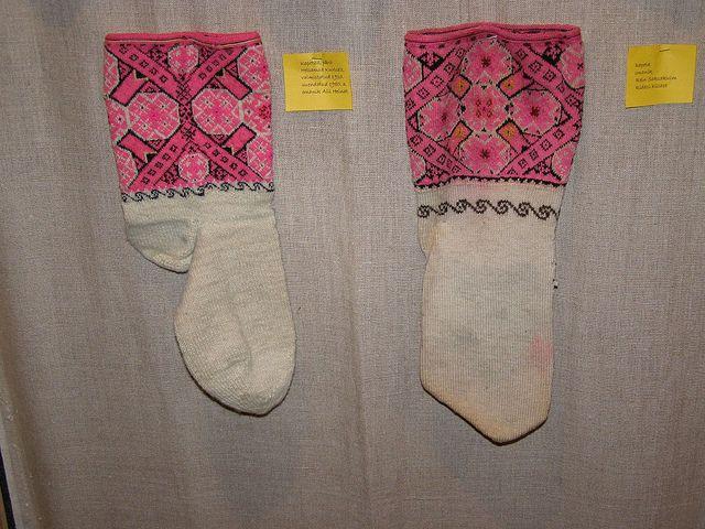 Muhu sukad-sokid / Folk socks and stockings, island Muhu | Flickr - Photo Sharing!