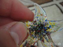 Modna hviezdica Murano perličkový náhrdelník 7e