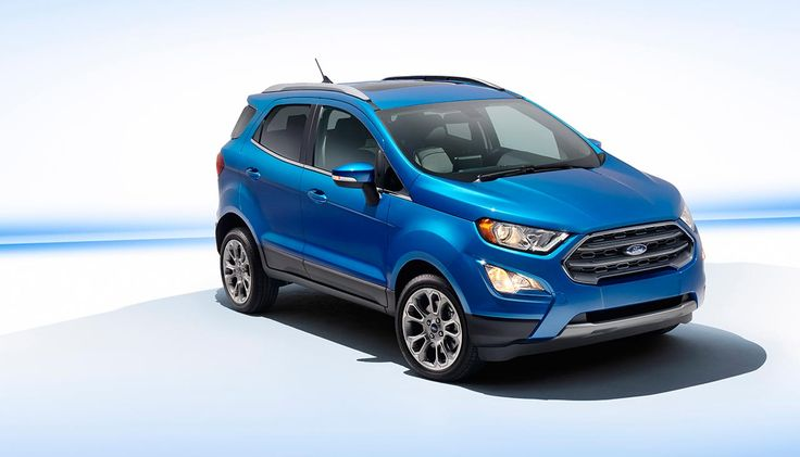 2018 Ford EcoSport released to North American market