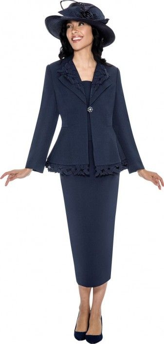 Gmi G6272 Womens 3 Piece Church Suit In 2018 Gmi Church Suits And
