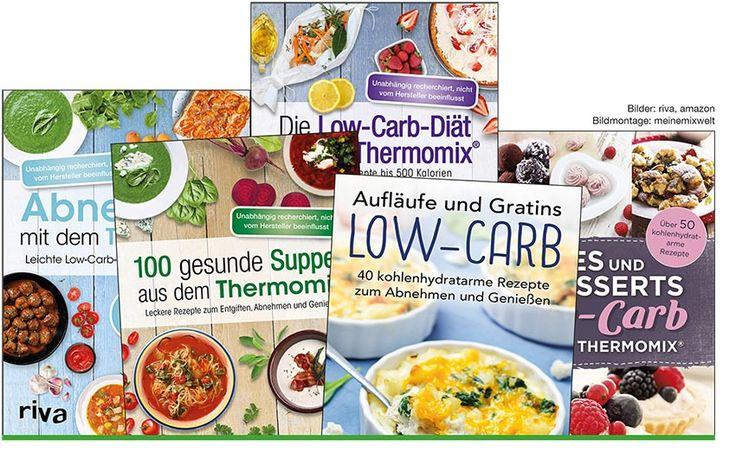 Low Carb Rezepte en masse gibt's bei Riva. Wir werden das angebot sichten und einzelne Rezepte nachkochen:  http://www.meinemixwelt.de/thermomix-low-carb-rezepte-von-riva/