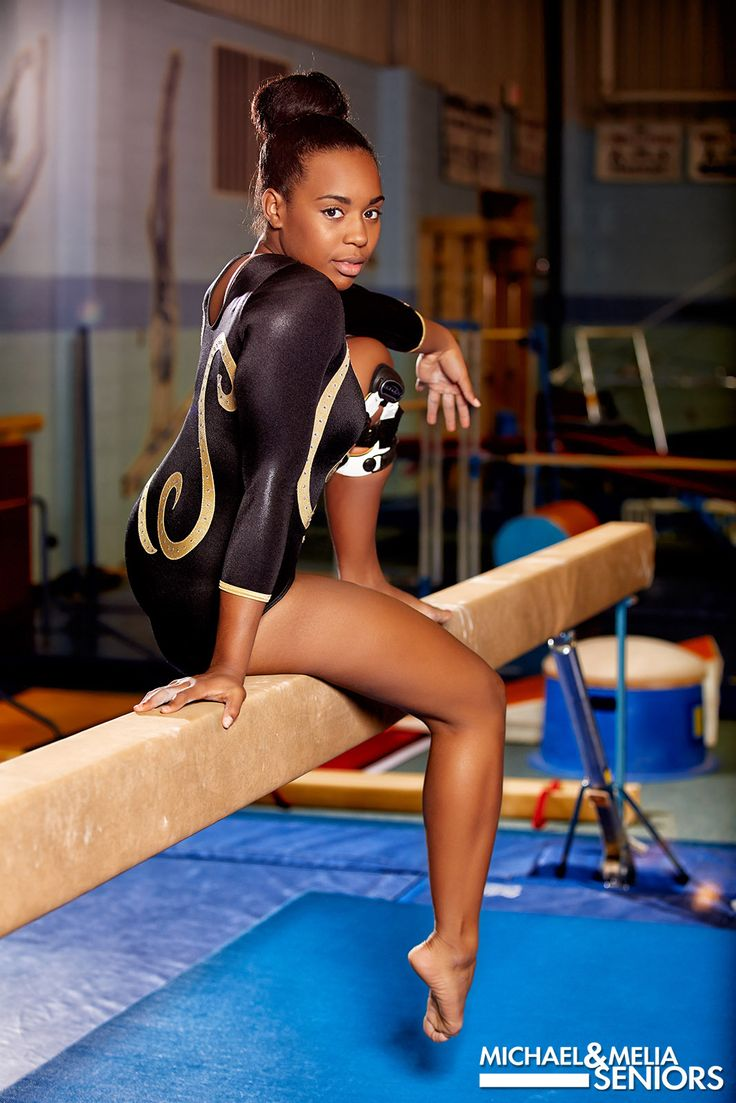 Senior Portrait / Photo / Picture - Gymnast / Gymnastics - Girls - Beam