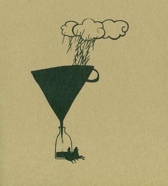 Ilustración de Gémeo Luís para la obra Tanto Como, de Eugénio Roda.