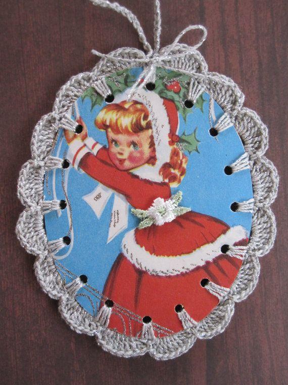 25 unique Christmas card crochet ideas on Pinterest  Card basket