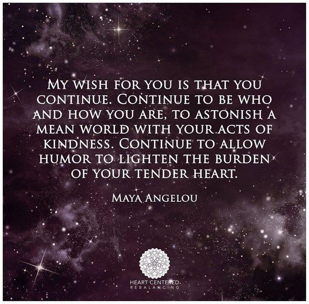 My Wish For You Pinterest Maya Angelou