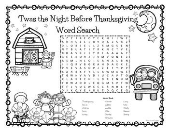 'Twas+the+Night+Before+Thanksgiving+is+a+fabulous+tale+by+Dav+Pilkey.++Read+this+story+to+your+class+or+watch+a+read+aloud+of+it+on+YouTube+and+then+have+your+students+complete+this+fun+word+search.++It+includes+words+from+the+story+as+well+as+all+the+turkeys+names.