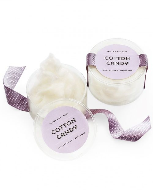 Cotton Candy Favor Label - Martha Stewart Weddings Favors