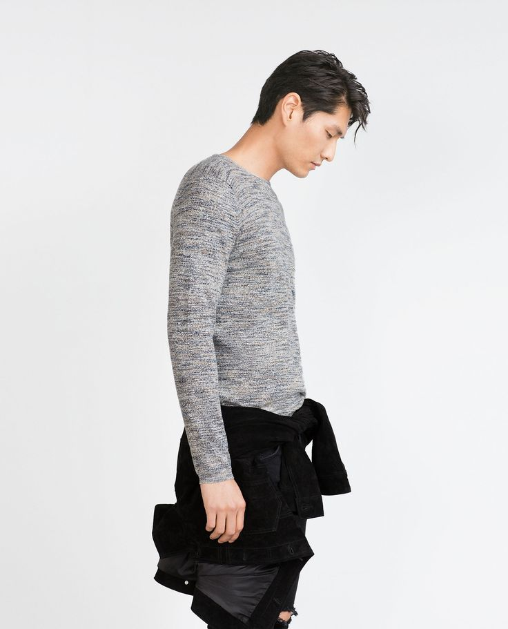 ZARA - MAN - TWIST KNIT SWEATER