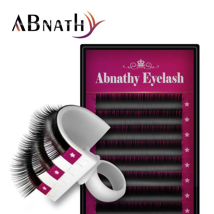 Abnathy Mink EyelashesJ B C D Curl Individual Eyelash Extension Natural Long False Eye Lashes Fake Eyelash cilios posticos