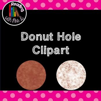 I was inspired by a recent entertainment news article measuring the heights of Canadian celebrities using a donut/doughnut hole treat from a Canadian Coffee establishment as a non-standard measurement unit. I decided to make a new product for students to measure objects using donut holes, but couldn't find any Donut hole clipart, so I made my own!