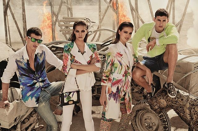 Just Cavalli - Berto's 2013 A/VV collections